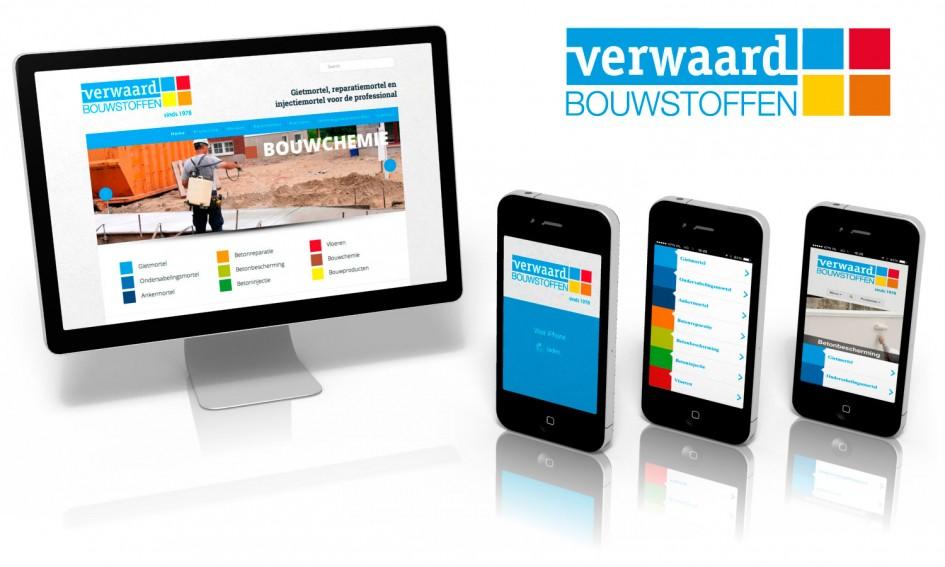 Website met web app voor verwaard bouwstoffen for Buro website