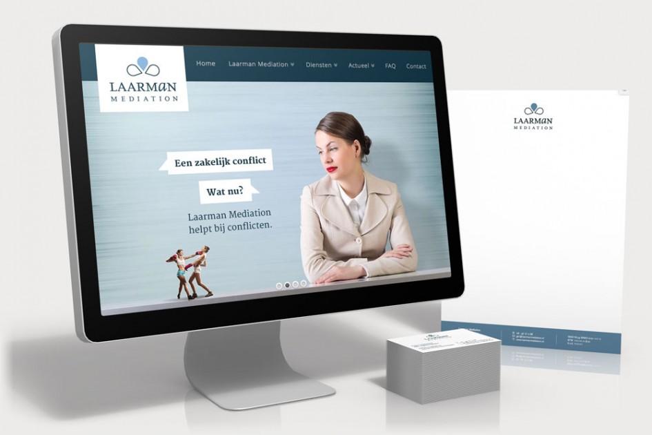 Laarman nieuwe site website design vink for Buro website