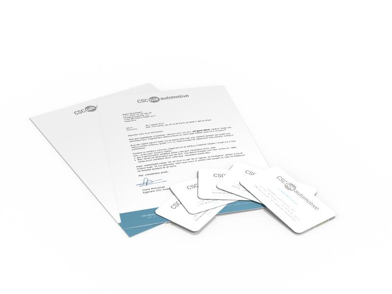 Briefpapier_Visitekaartje_PR